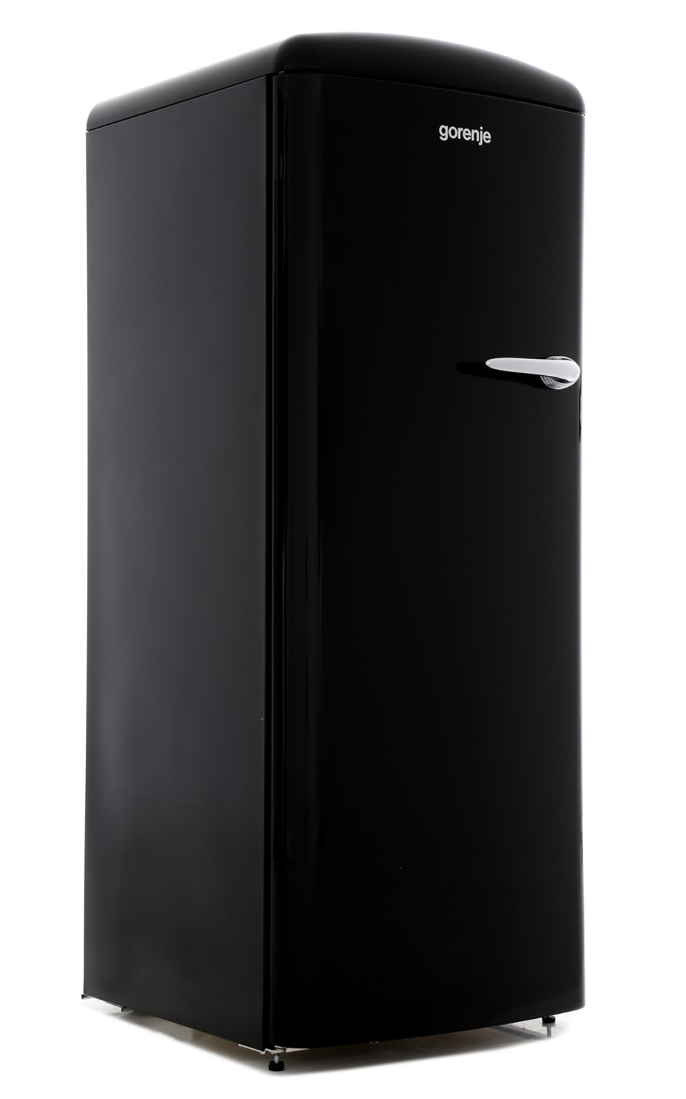 Gorenje ORB153BKL Retro Tall Fridge with Ice Box