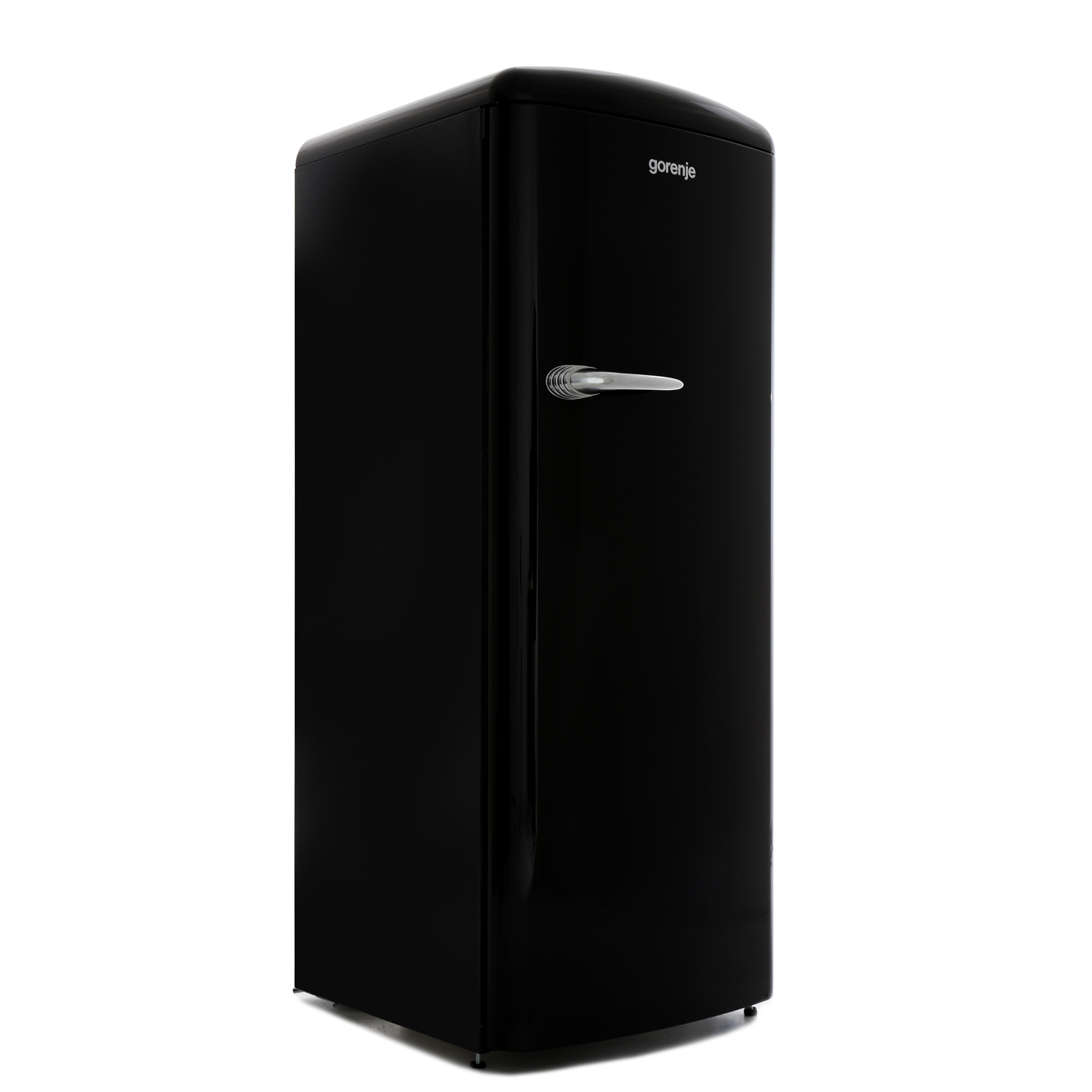 Gorenje ORB153BK Retro Tall Fridge with Ice Box