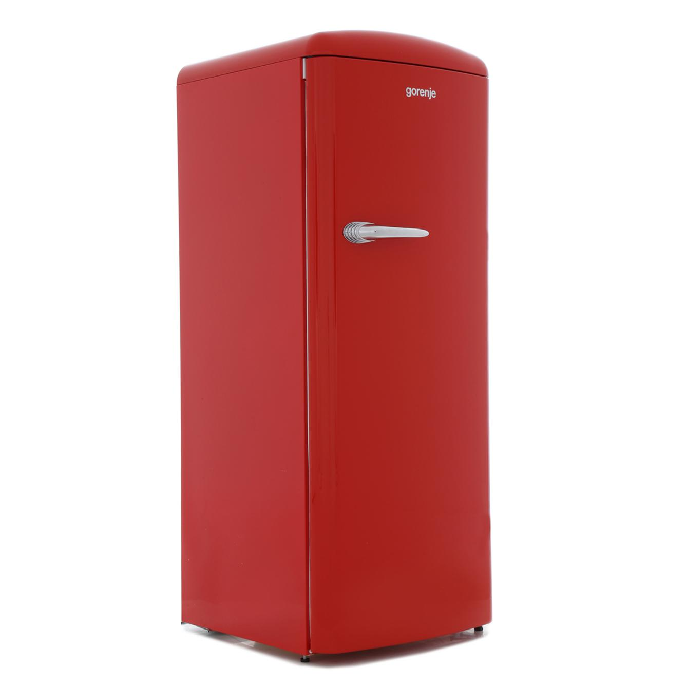 buy gorenje orb153rd retro tall fridge with ice box fire red marks electrical. Black Bedroom Furniture Sets. Home Design Ideas