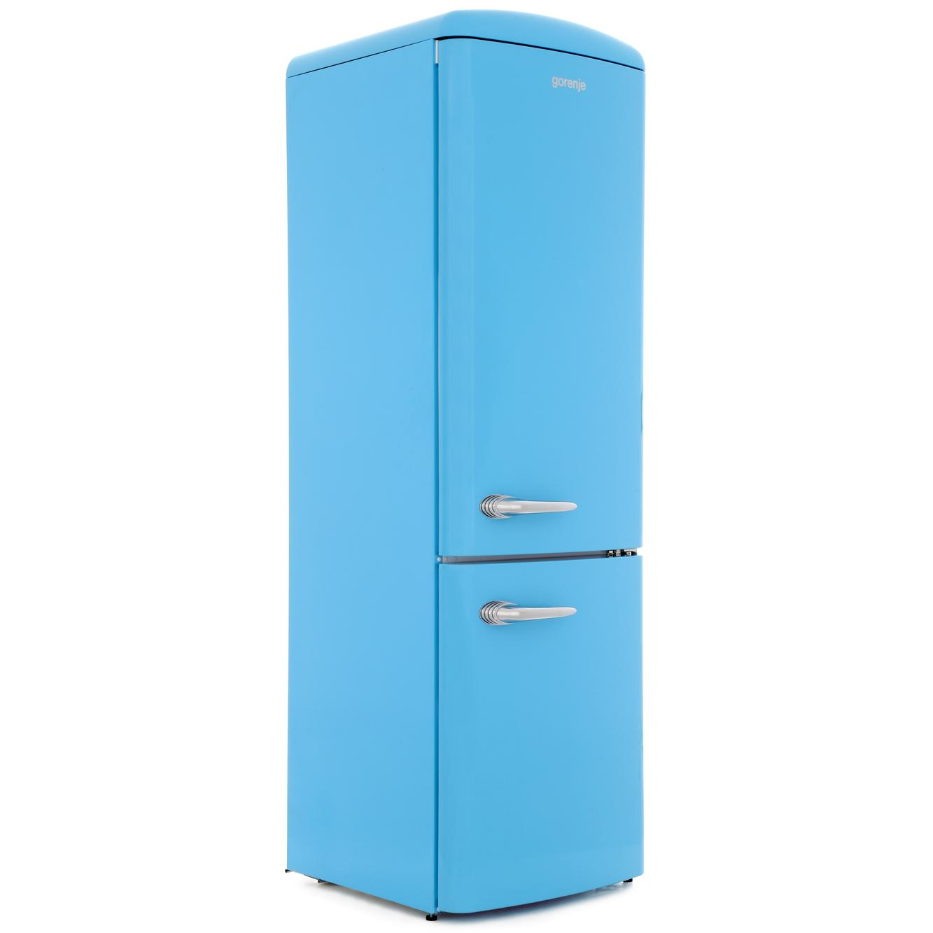 Gorenje ORK193BL Retro Static Fridge Freezer