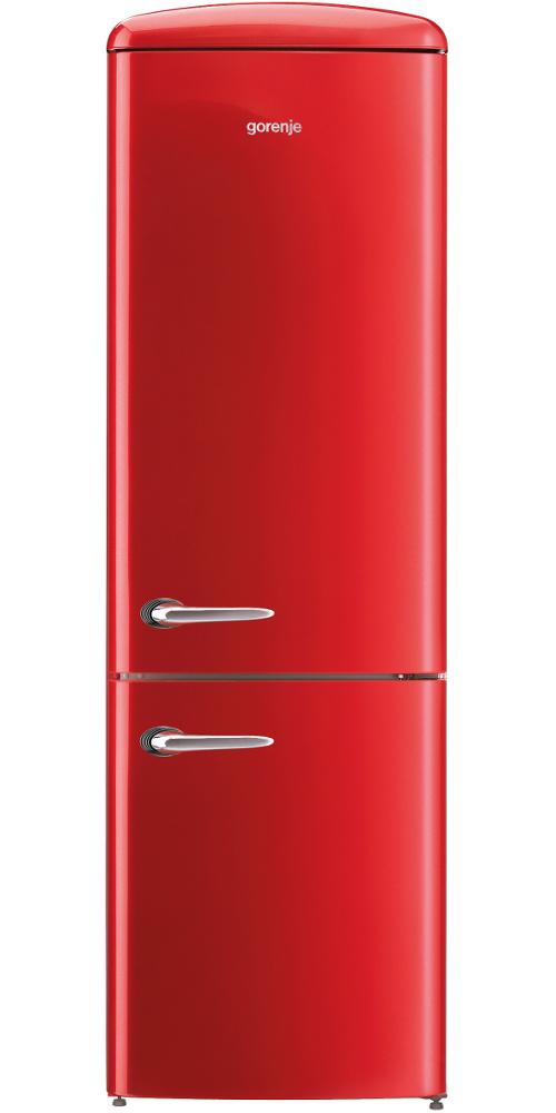 buy gorenje ork193rd fridge freezer fire red marks. Black Bedroom Furniture Sets. Home Design Ideas