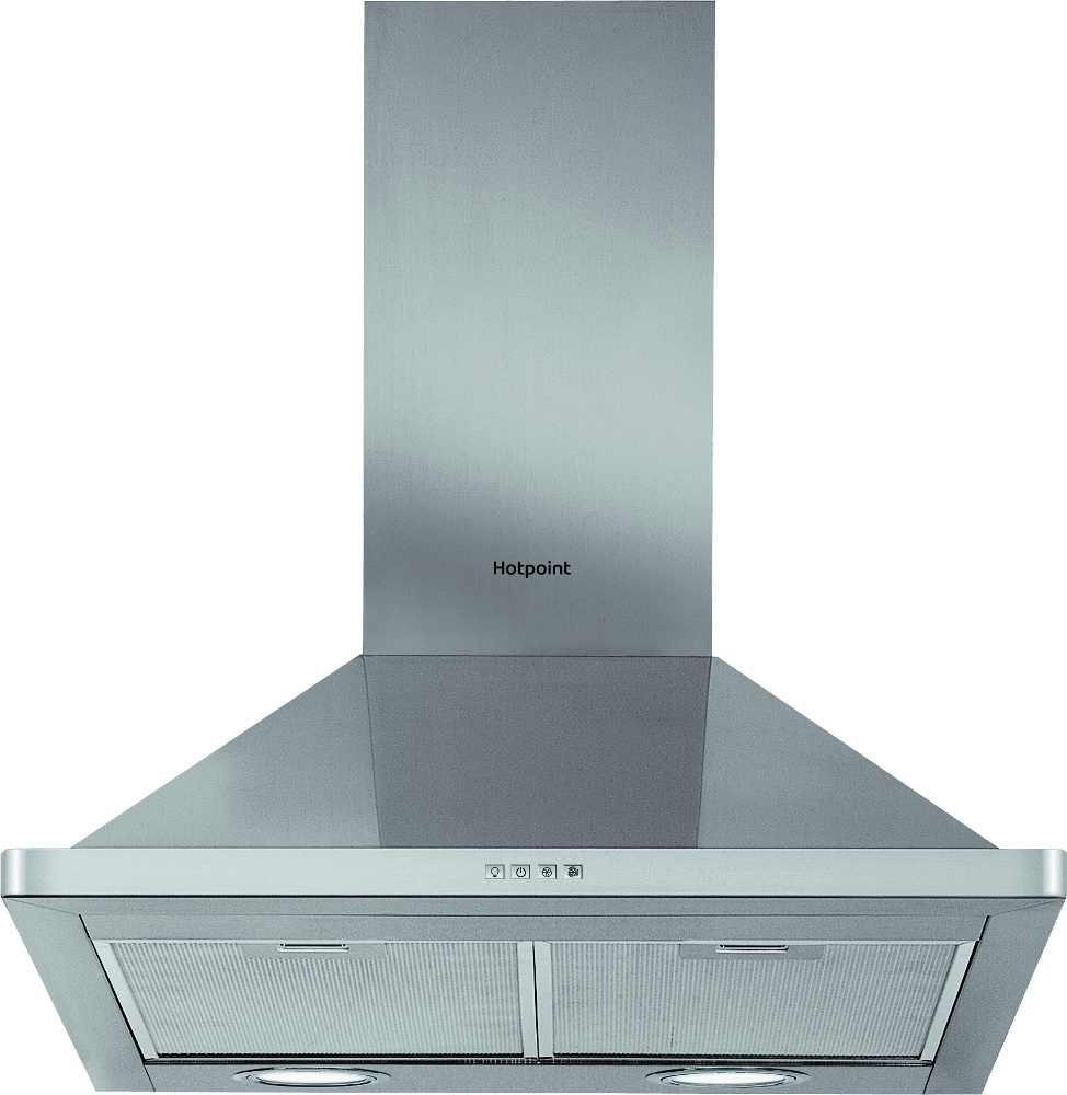 Buy Hotpoint PHPN74FAMX 70cm Chimney Hood - Inox | Marks Electrical