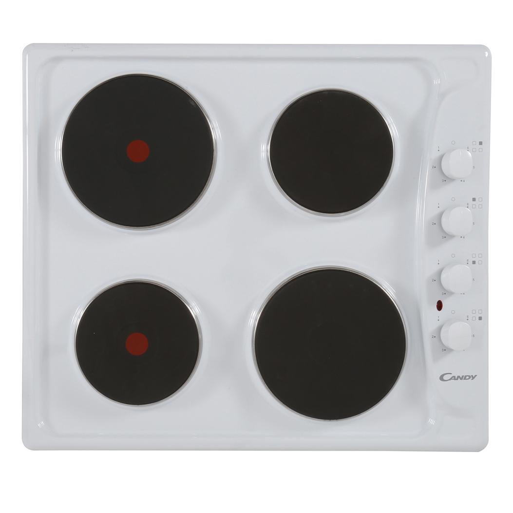 Candy PLE64W Electric Hob