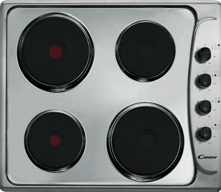 Candy PLE64X Electric Hob
