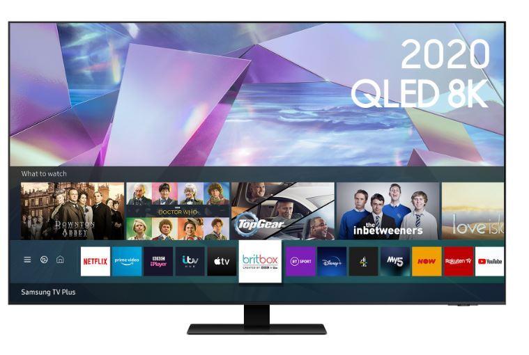 """Samsung Q700T QE65Q700TATXXU 65"""" QLED 8K HDR Smart Television"""