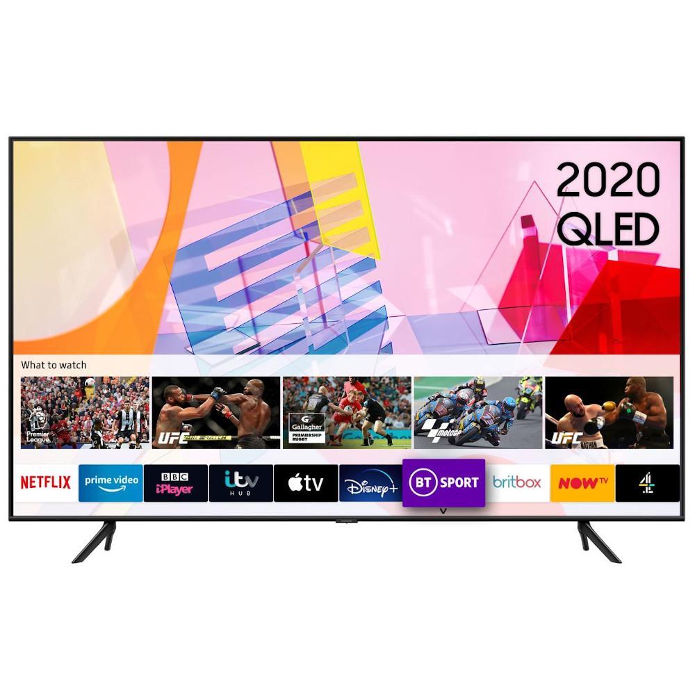 "Samsung QE75Q60TAUXXU 75"" QLED 4K Smart Television"