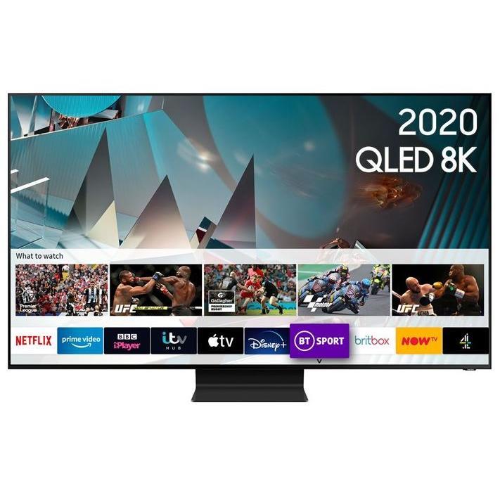 """Samsung QE82Q800TATXXU 82"""" QLED 8K Smart Television"""