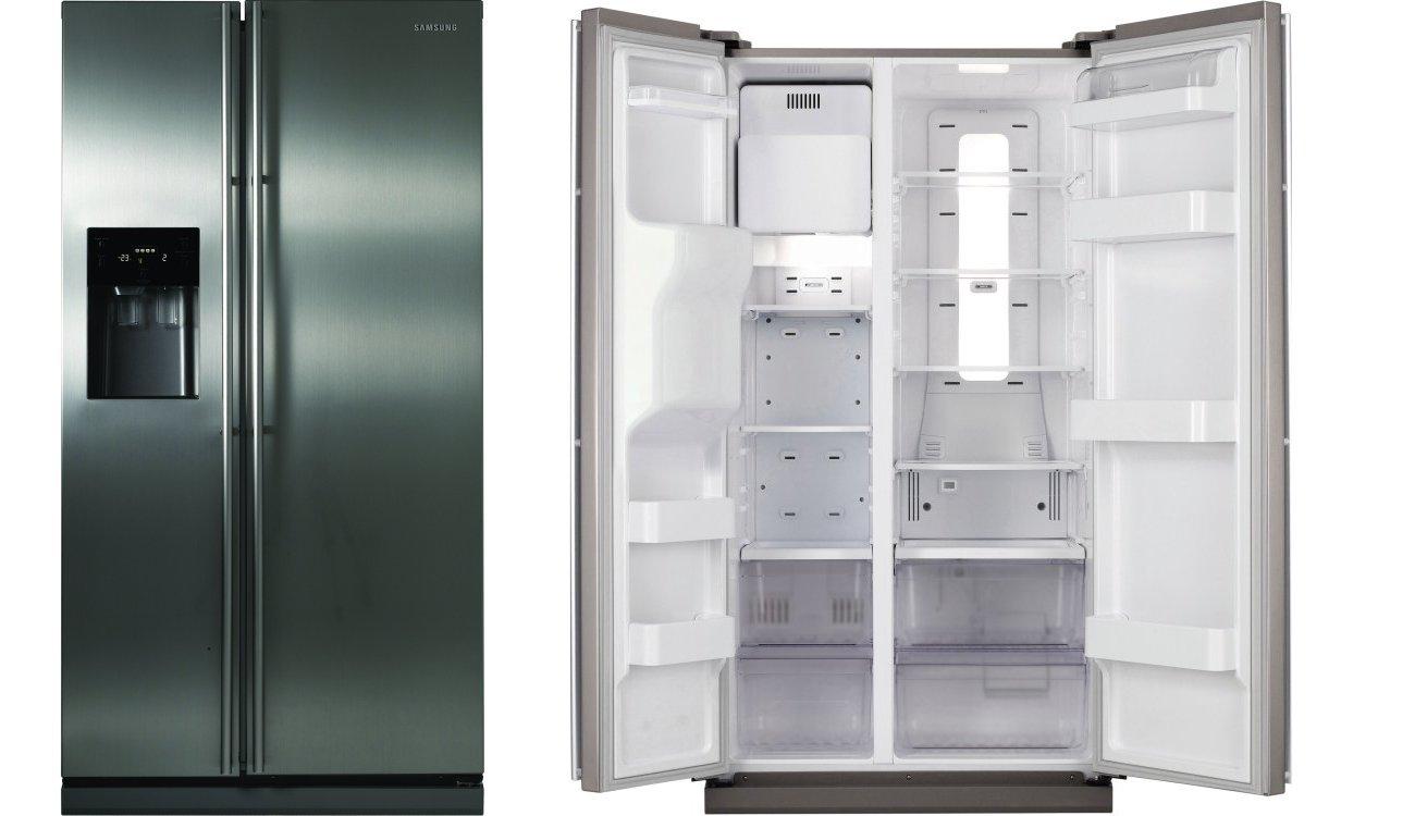Samsung Rsh1dbrs American Fridge Freezer Real Stainless