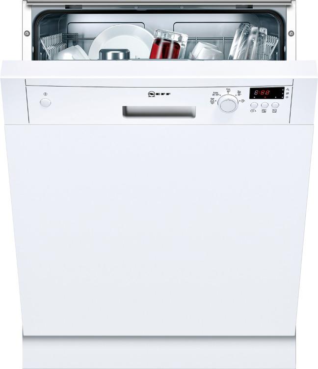 Neff S41E50W1GB Built In Semi Integrated Dishwasher