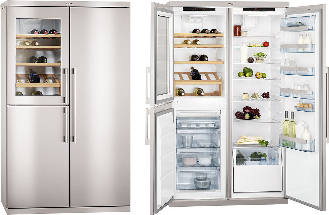 Aeg S95800xtm0 Multi Door American Fridge Freezer