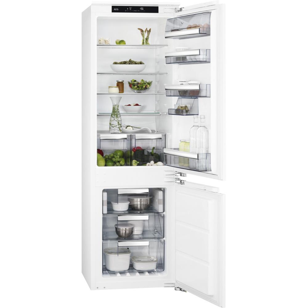 AEG SCE8182XNC Integrated Fridge Freezer