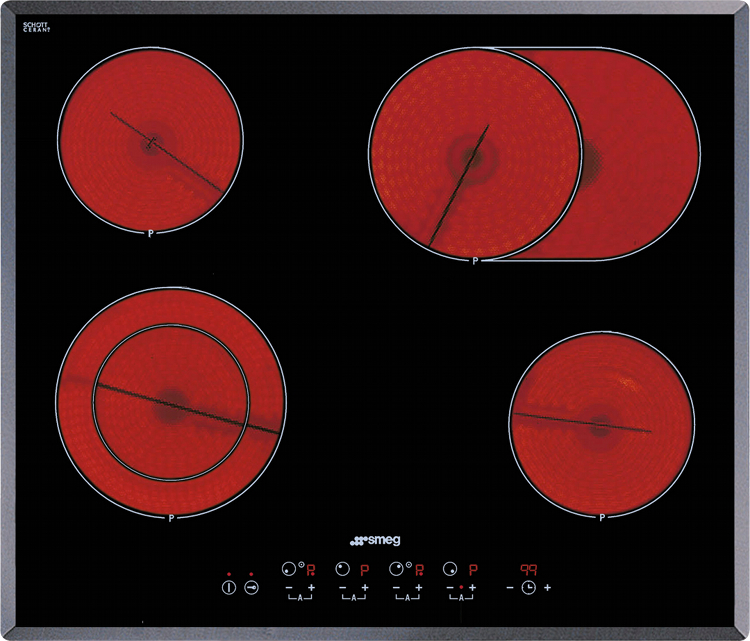 Smeg SE2664TC2 Ceramic Hob