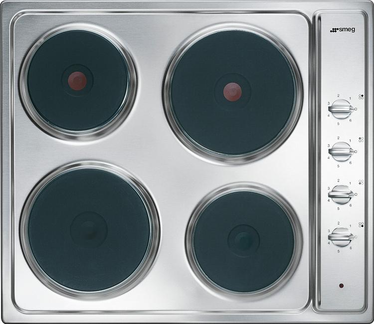 Smeg Cucina SE435S Electric Hob