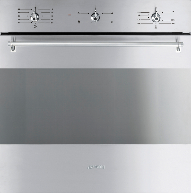 Beautiful Built In Single Gas Oven Part - 8: Smeg Classic SF341GVX Single Built In Gas Oven