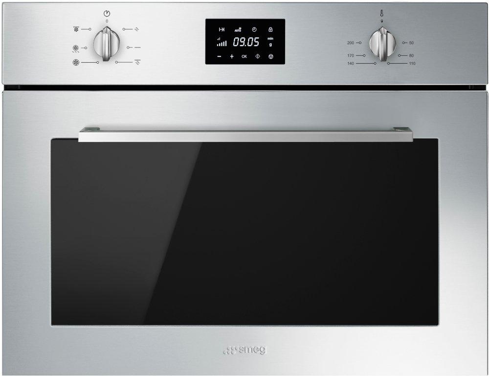 Smeg Cucina SF4400MCX Built In Combination Microwave