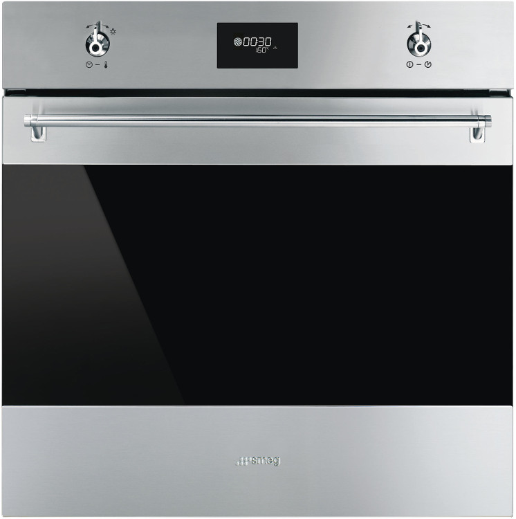 Smeg Classic SFP6378X Single Built In Electric Oven