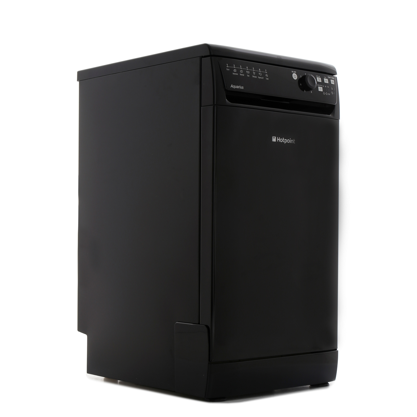 buy hotpoint sial11010k slimline dishwasher black. Black Bedroom Furniture Sets. Home Design Ideas