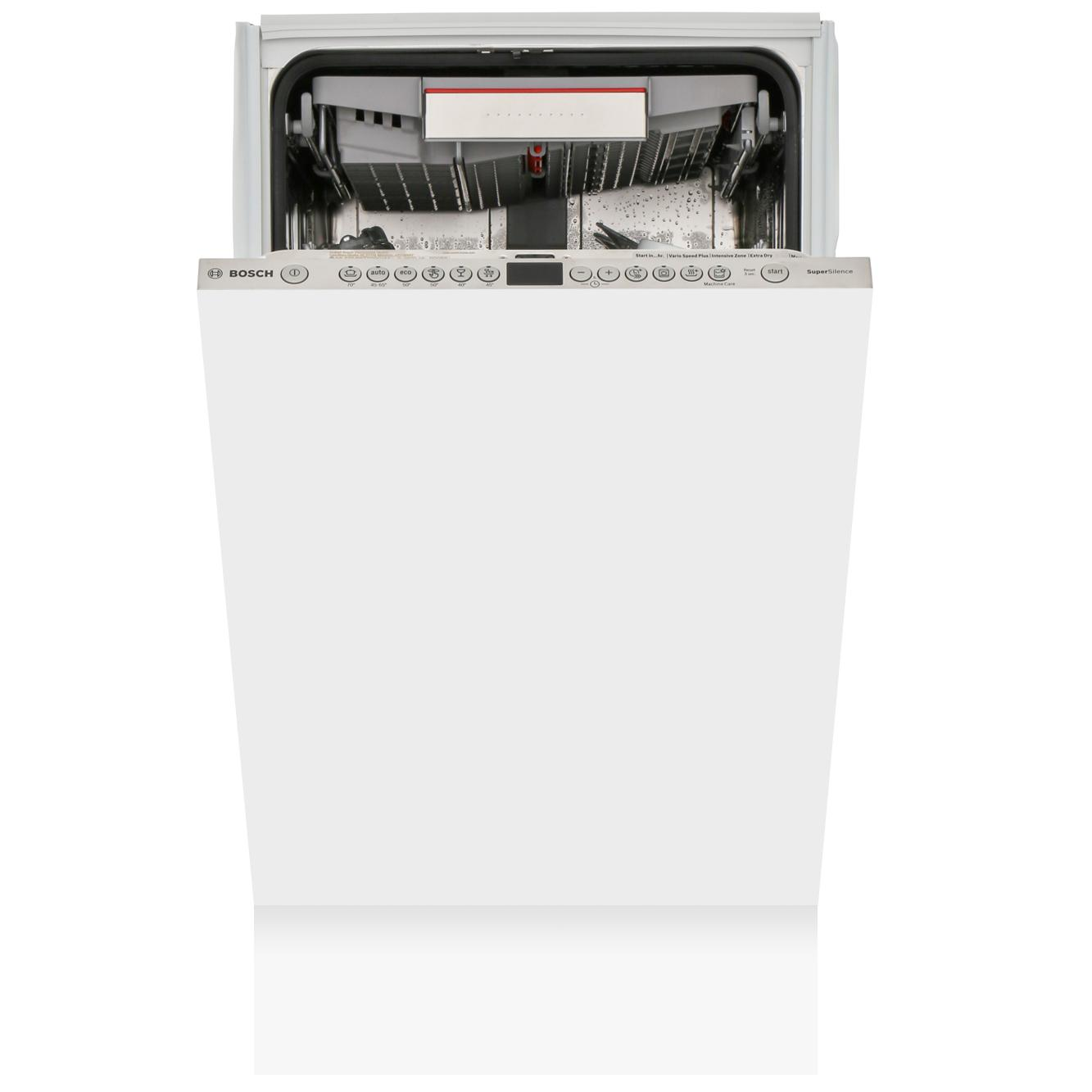 Bosch Serie 6 SPV66TX00G Built In Fully Int. Slimline Dishwasher