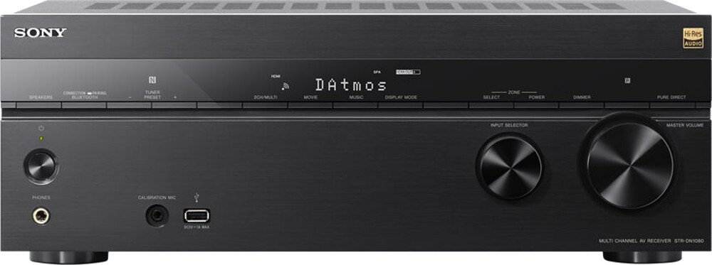 Sony STR-DN1080 7.2 Channel Home Theater AV Receiver