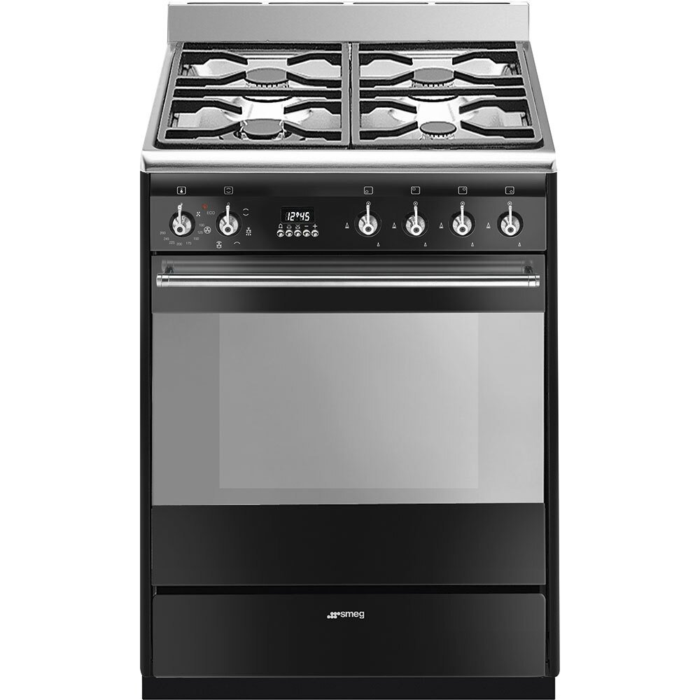 Smeg Concert SUK61MBL9 Dual Fuel Cooker with Single Oven