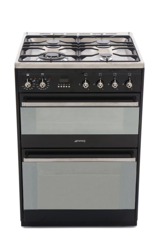 Smeg Concert SUK62MBL8 Dual Fuel Cooker with Double Oven