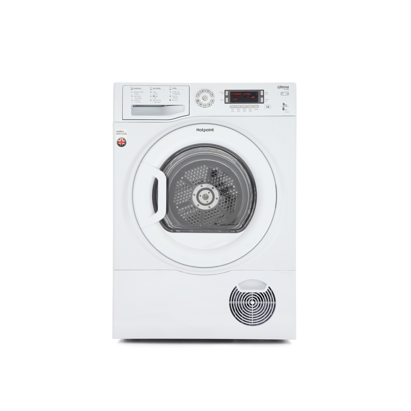 Hotpoint Ultima SUTCD97B6P Condenser Dryer