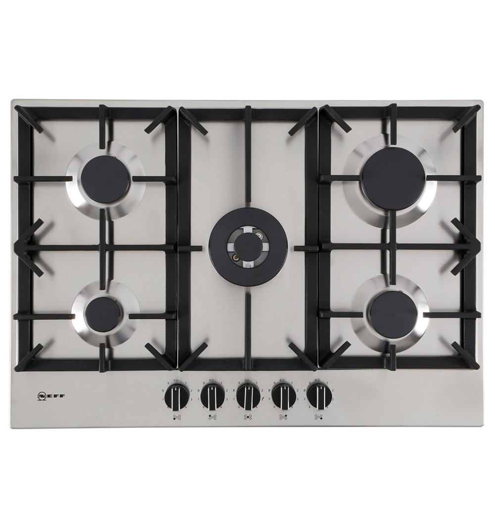 Neff T27DS59N0 5 Burner Gas Hob