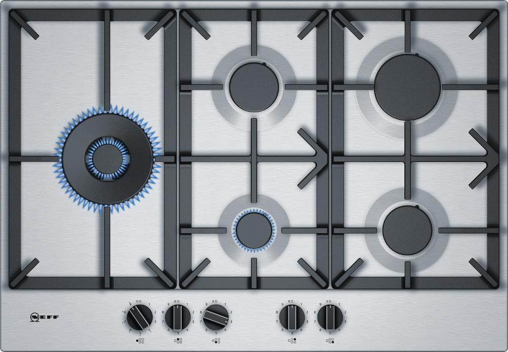 Neff N70 T27DS79N0 5 Burner Gas Hob