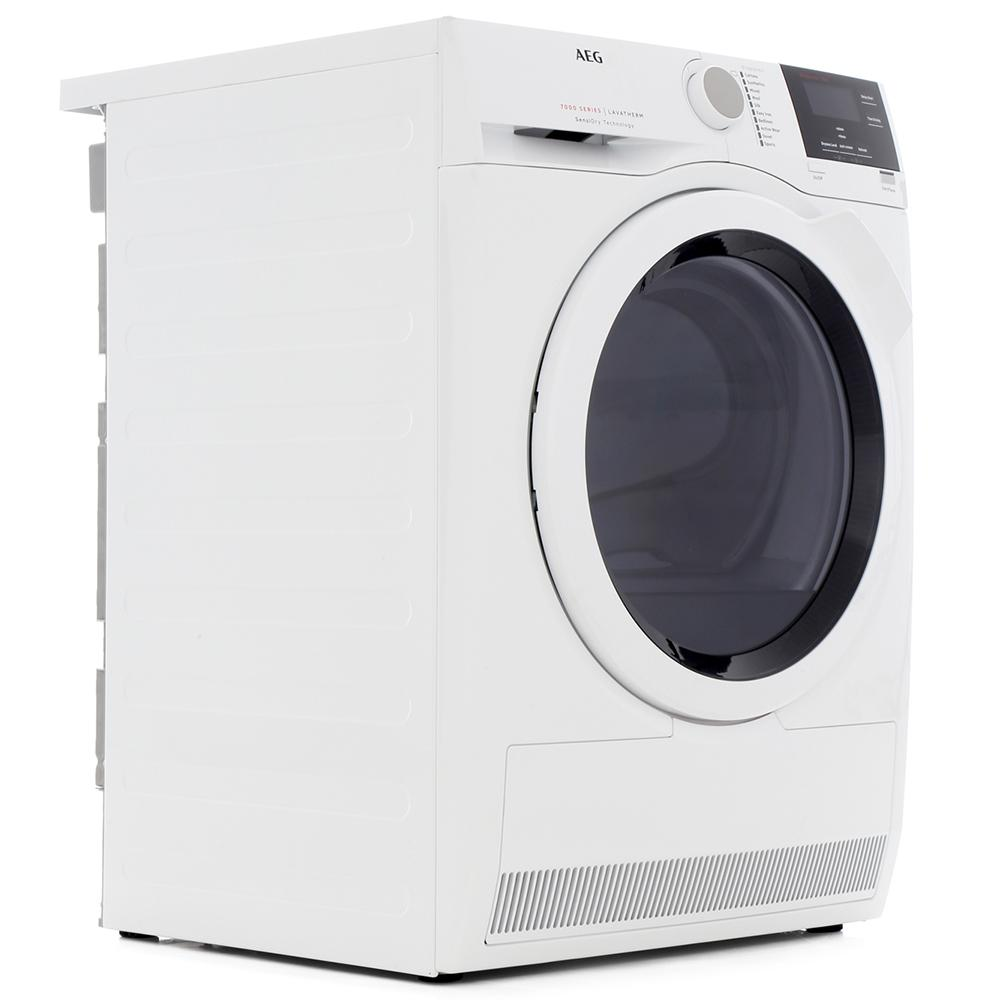 AEG T7DBG831R Condenser Dryer with Heat Pump Technology