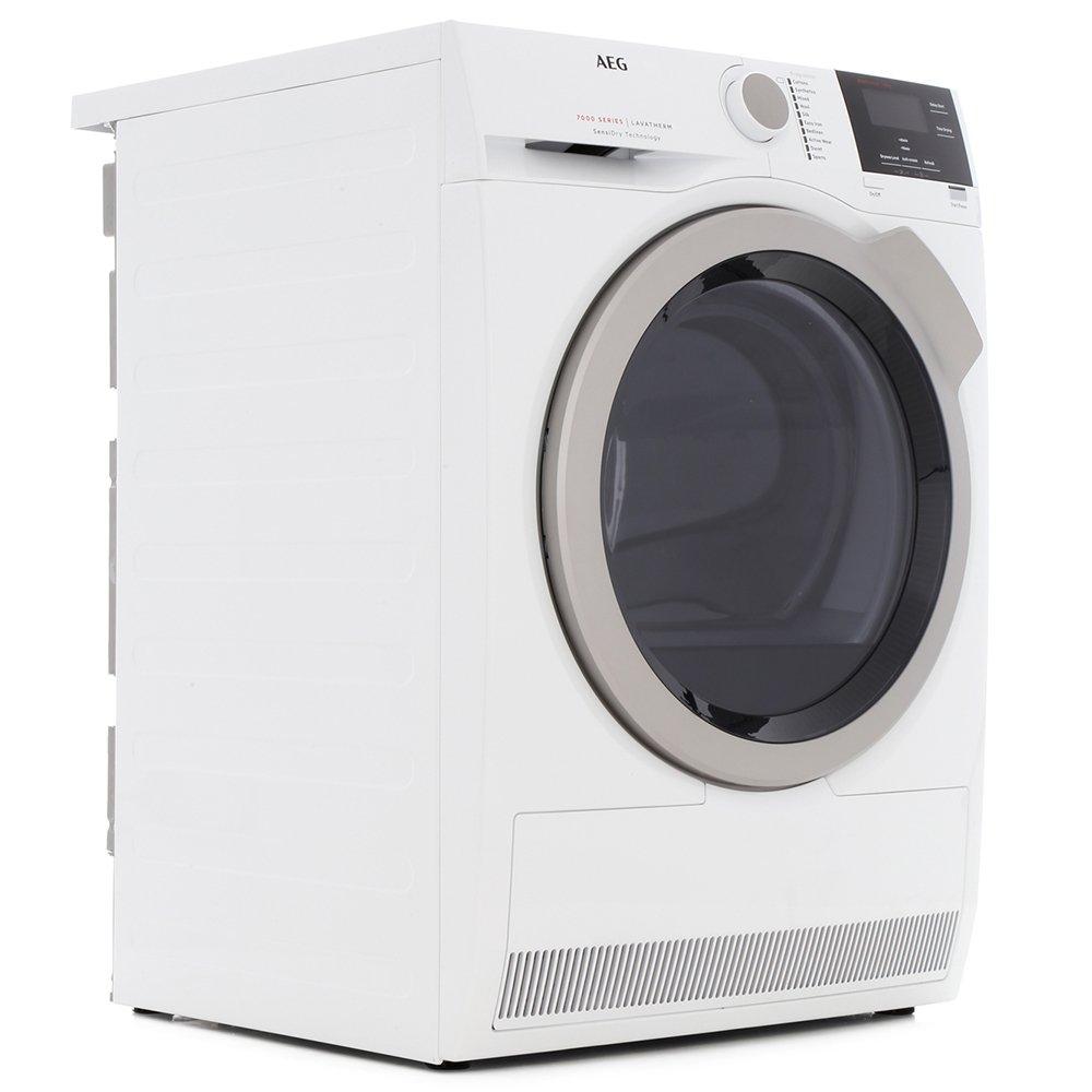 AEG T7DBG832R Condenser Dryer with Heat Pump Technology