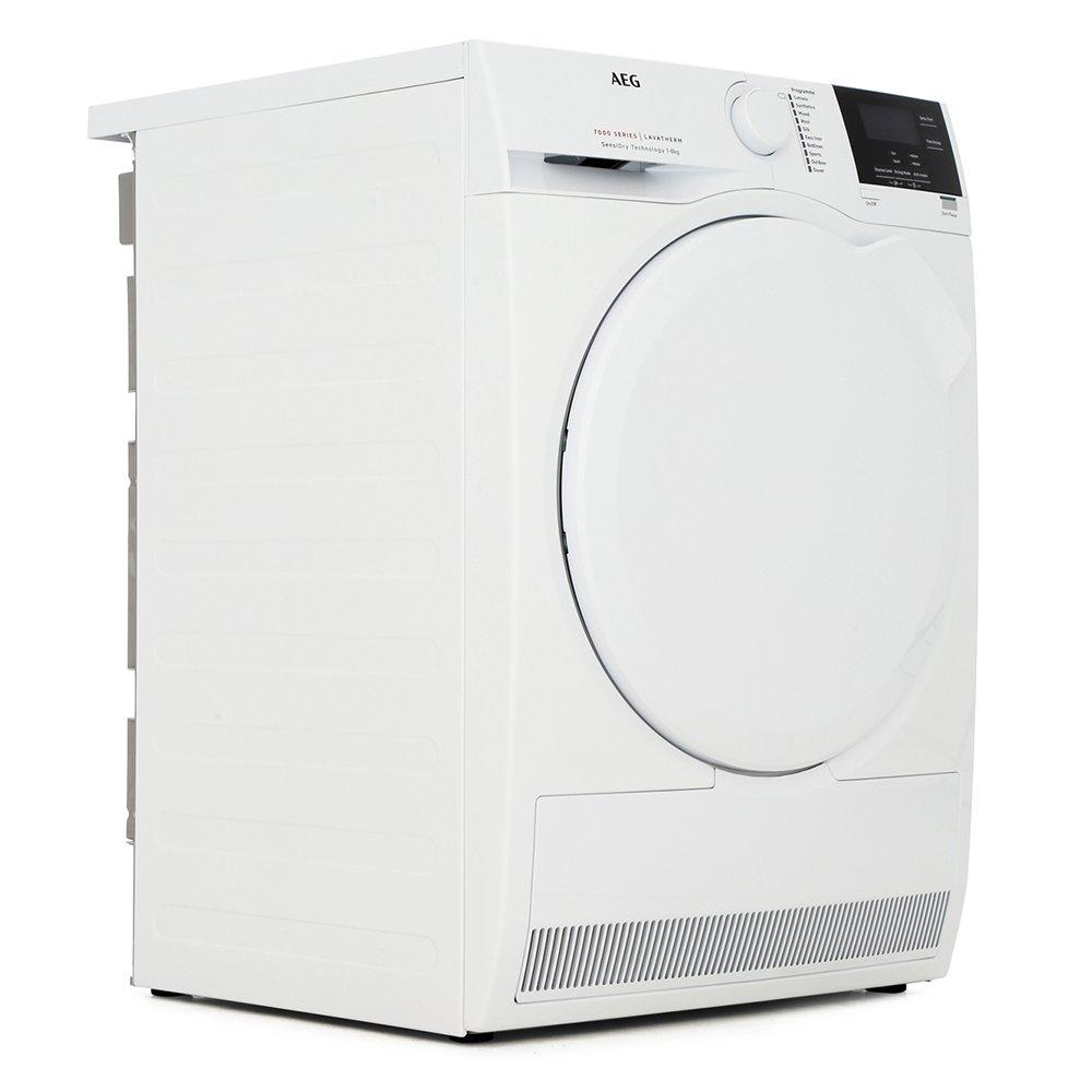 AEG T7DBG860N 7000 Series Condenser Dryer with Heat Pump Technology