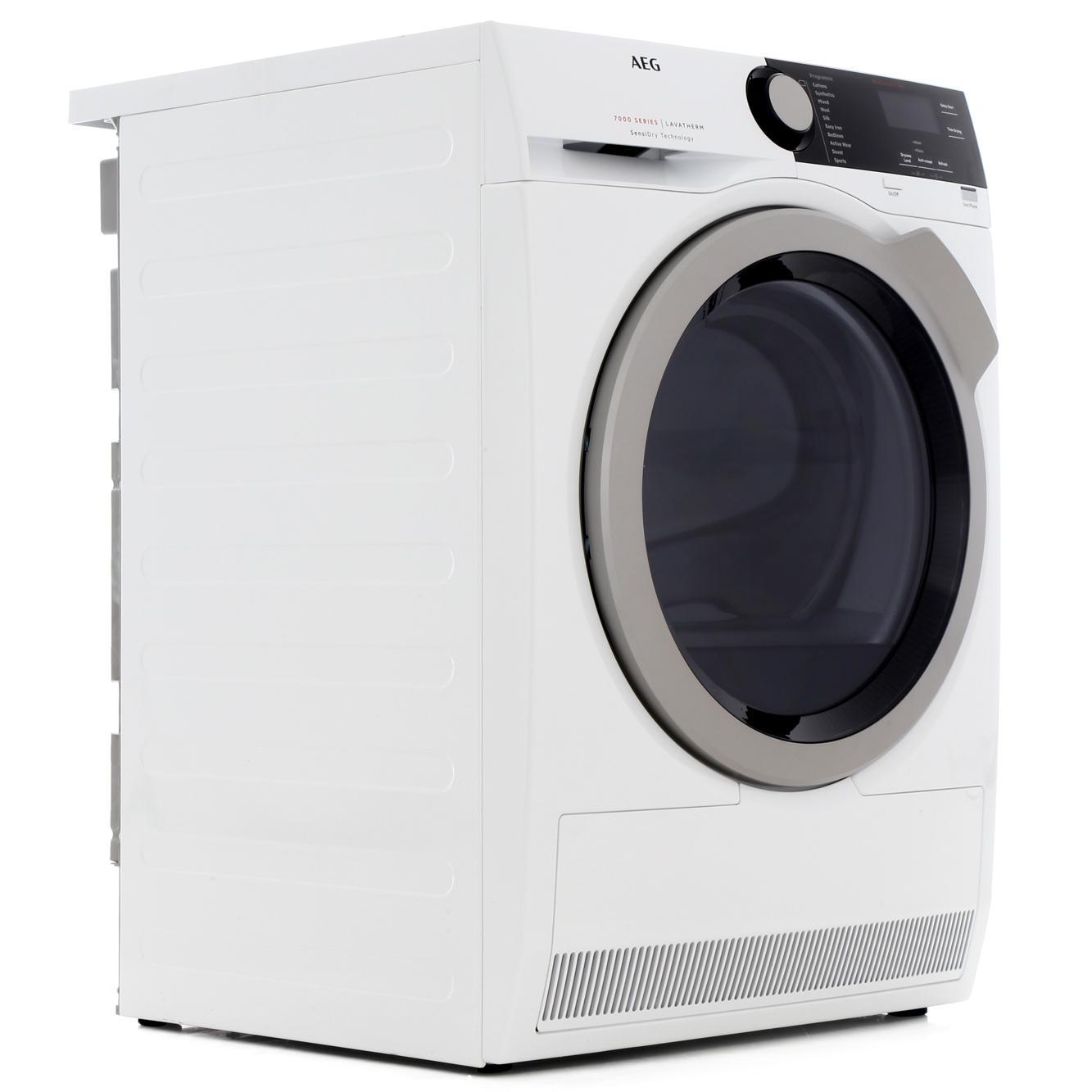 AEG T7DEE832R Condenser Dryer