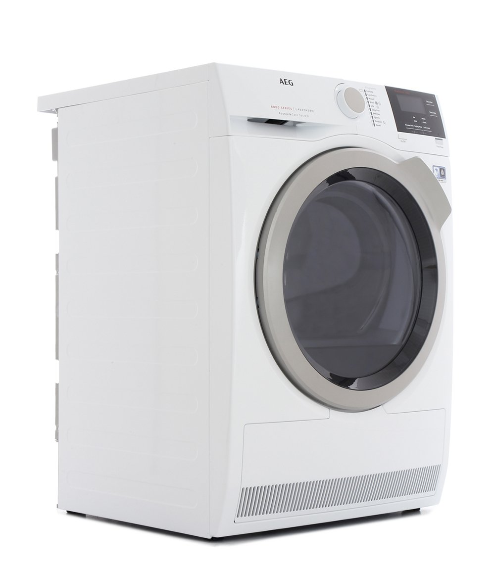 AEG T8DBG842R Condenser Dryer with Heat Pump Technology