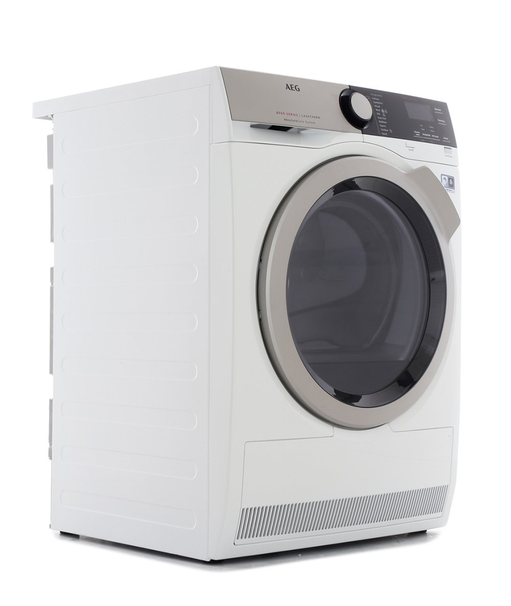 AEG T8DEE845R Condenser Dryer with Heat Pump Technology