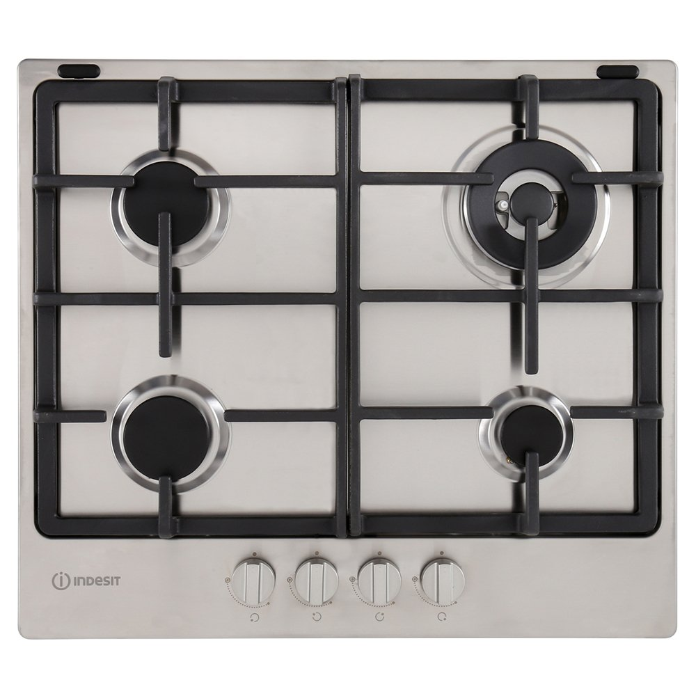 Indesit THP641WIXI 4 Burner Gas Hob