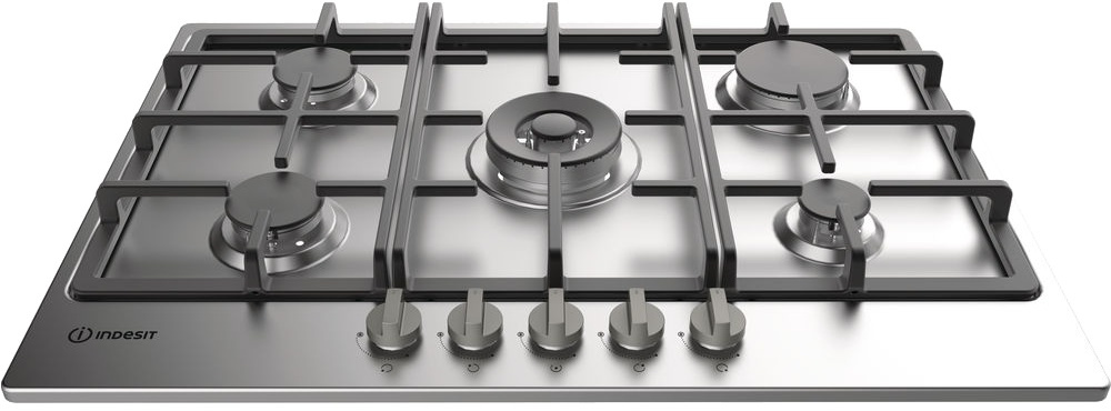 Indesit THP751PIXI 5 Burner Gas Hob