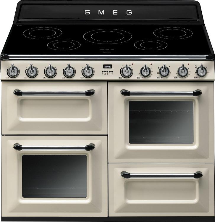 Smeg Victoria TR4110IP 110cm Electric Induction Range Cooker