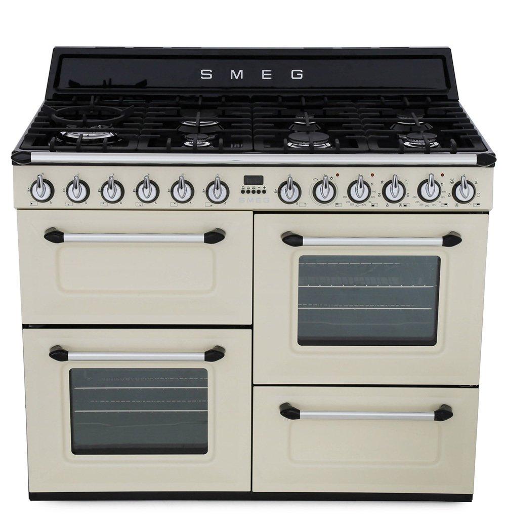 Smeg Victoria TR4110P1 110cm Dual Fuel Range Cooker