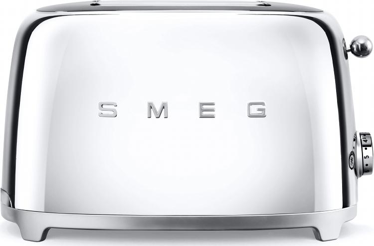 Smeg TSF01SSUK 50's Retro Style 2 Slice Toaster