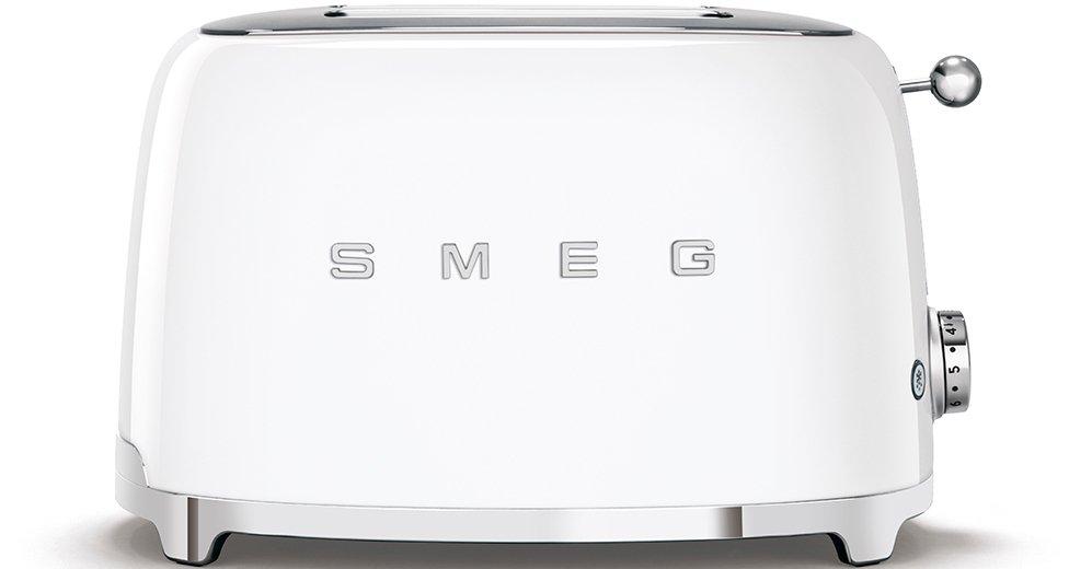 Smeg TSF01WHUK Retro 2 Slice Toaster