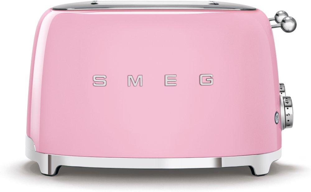 Smeg TSF03PKUK Retro 4 Slice Toaster