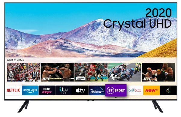 "Samsung UE50TU8000KXXU 50"" Crystal UHD 4K HDR Smart Television"