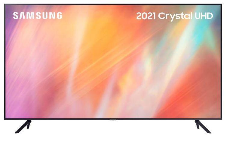 "Samsung AU7100 UE55AU7100KXXU 55"" UHD 4K HDR Smart TV"
