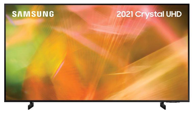 "Samsung AU8000 UE60AU8000KXXU 60"" Crystal UHD 4K HDR Smart Television"