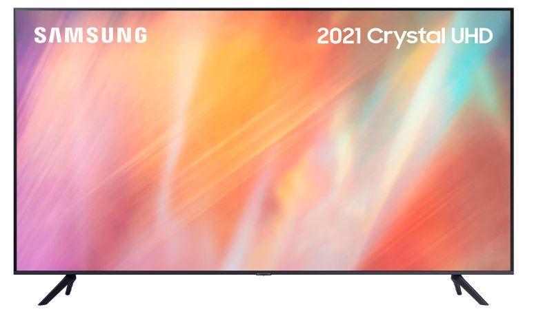 "Samsung AU7100 UE65AU7100KXXU 65"" UHD 4K HDR Smart TV"