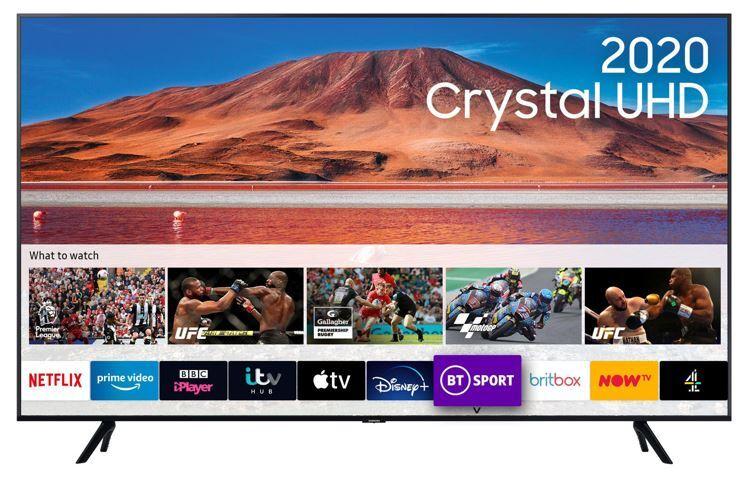 "Samsung TU7100 UE75TU7100KXXU 75"" Crystal UHD 4K HDR Smart Television"