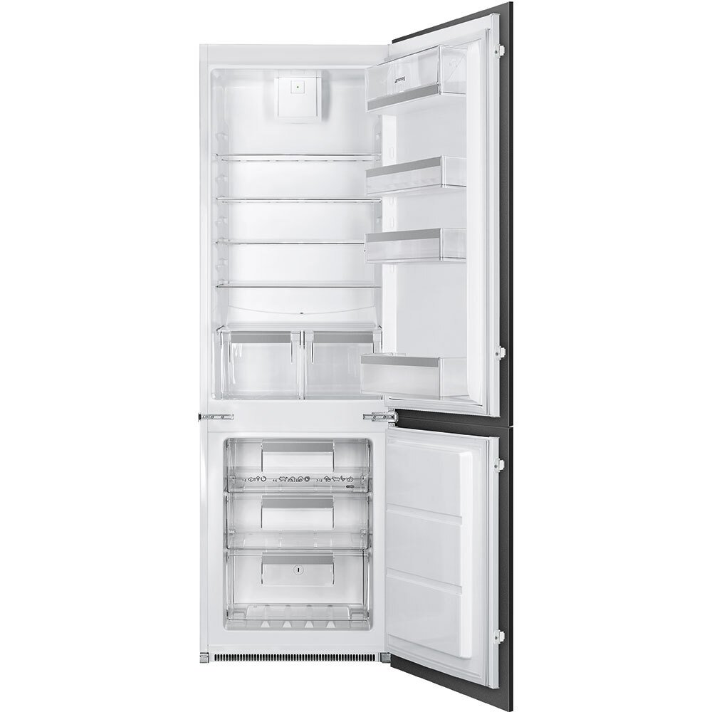 Smeg UKC7280NEP1 Frost Free Integrated Fridge Freezer