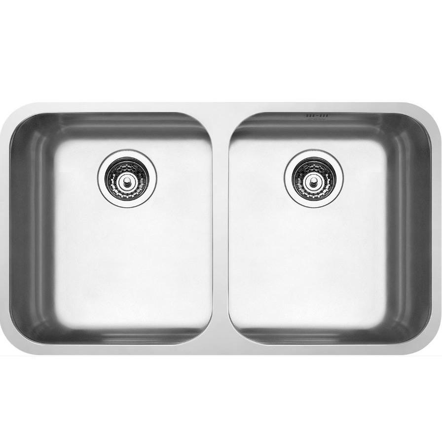 Smeg Alba UM4545 Double Stainless Steel Undermount Sink