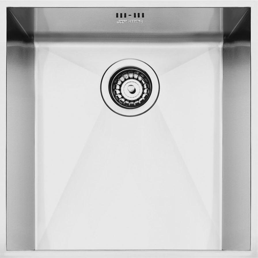 Smeg Quadra VSTQ40-2 Stainless Steel Undermount Sink