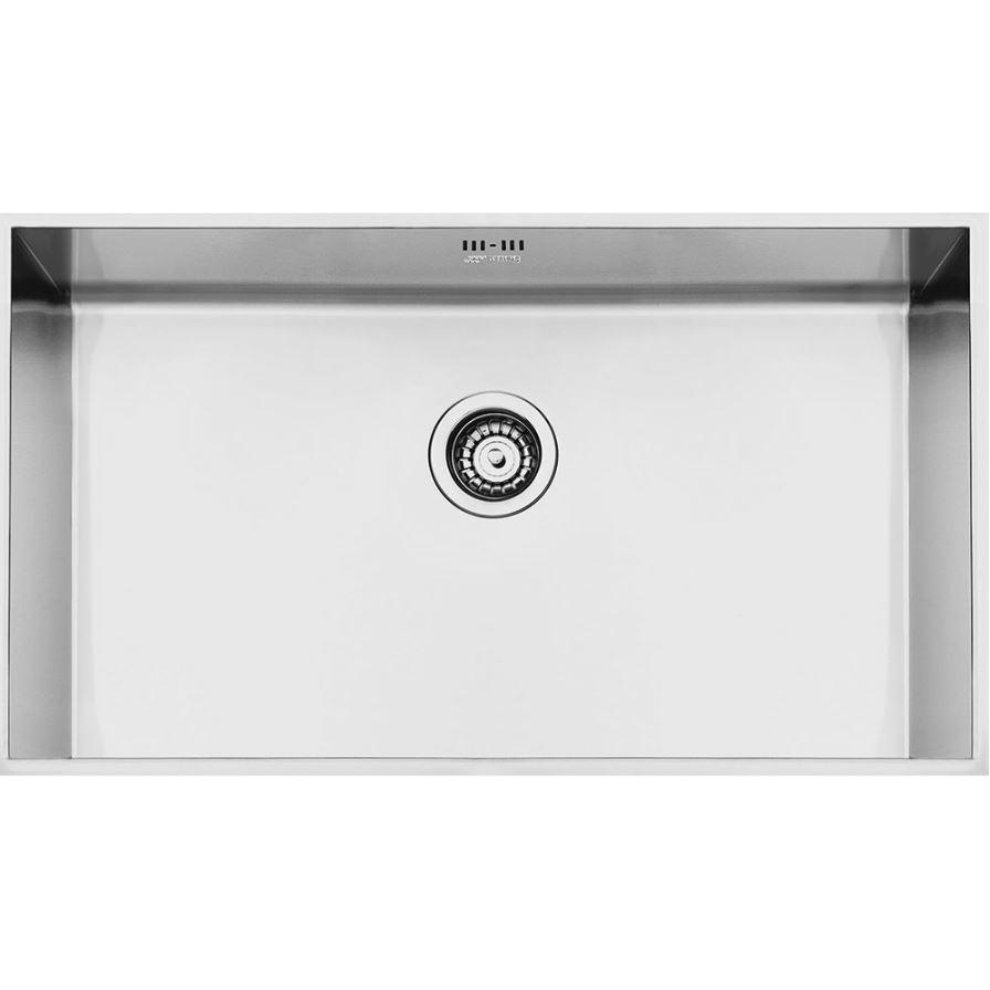 Smeg Quadra VSTQ72-2 Stainless Steel Undermount Sink